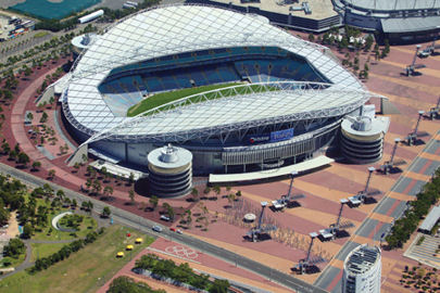 how to go from olympic park to sydney airport