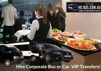 corporate hire cars and buses