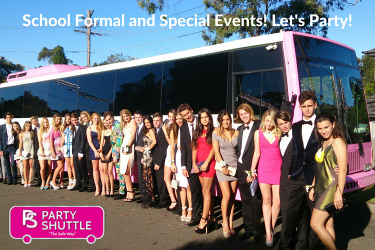 School Formal and Special Events!