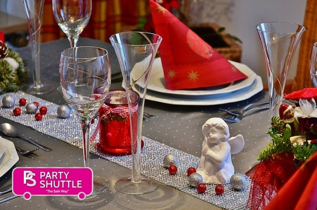 Party Shuttle Bus — A Great Way to Start Your Office Christmas Party